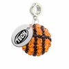 Arkansas Tech Wonder Boys/Golden Suns Crystal Drop Charm