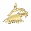 Ashland Eagles 14K Yellow Gold Natural Finish Cut Out Logo Charm