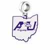 Ashland Eagles Logo Dangle Charm