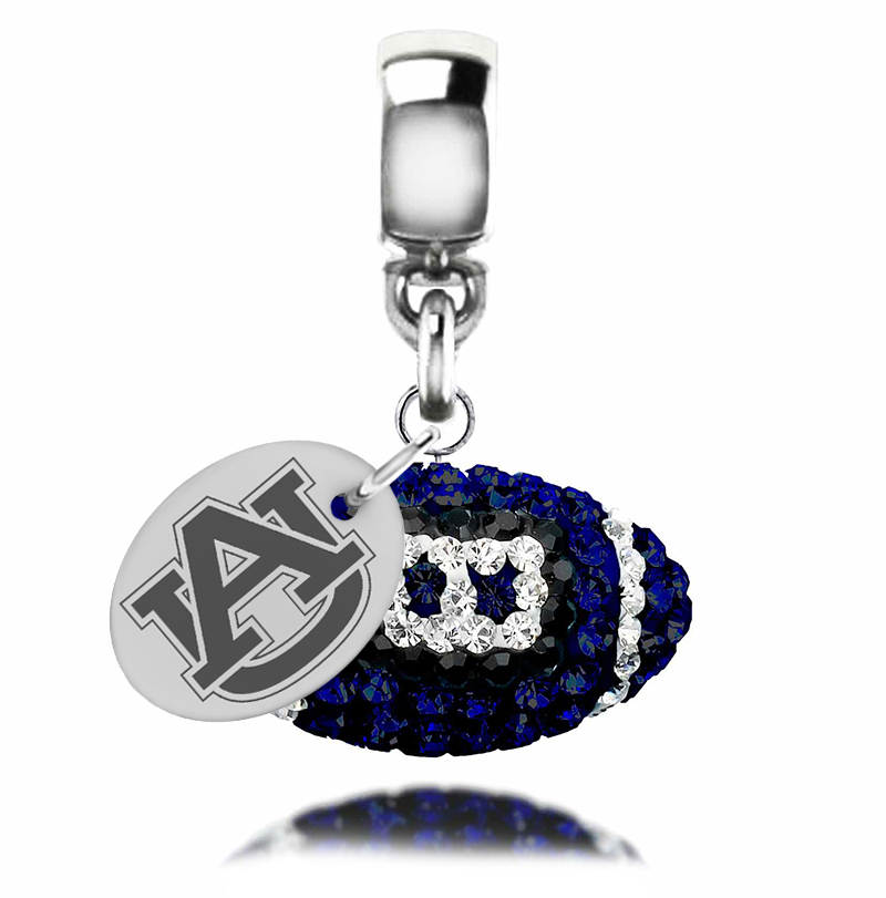 Wholesale auburn tigers crystal drop charm college jewelry for Direct jewelry falls church va