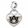 Auburn Heart Dangle Charm