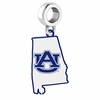 Auburn Tigers Logo Dangle Charm
