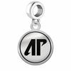 Austin Peay Governors Border Round Dangle Charm