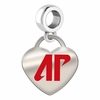 Austin Peay Governors Color Heart Dangle