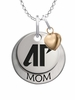 Austin Peay Governors MOM Necklace with Heart Charm