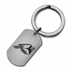 Ball State Cardinals Stainless Steel Key Ring