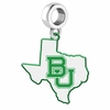Baylor Bears Logo Dangle Charm