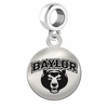 Baylor Round Dangle Charm