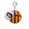Bloomsburg Huskies Crystal Drop Charm