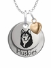 Bloomsburg Huskies with Heart Accent