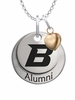 Boise State Broncos Alumni Necklace with Heart Accent