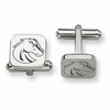Boise State Broncos Stainless Steel Cufflinks