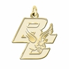 Boston College Eagles 14K Yellow Gold Natural Finish Cut Out Logo Charm