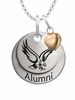 Boston College Eagles Alumni Necklace with Heart Accent