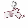 Boston College Eagles Logo Dangle Charm