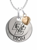 Boston College Eagles MOM Necklace with Heart Charm