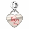 Boston Terriers Color Heart Dangle