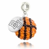 Boston Terriers Crystal Drop Charm