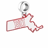 Boston Terriers Logo Dangle Charm