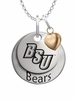 Bridgewater State Bears with Heart Accent