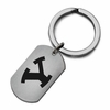 Brigham Young BYA Cougars Stainless Steel Key Ring