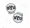 Brigham Young Cougars Sterling Silver Cufflinks