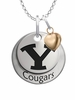 Brigham Young Cougars with Heart Accent