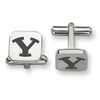Brigham Young Stainless Steel Cufflinks