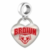 Brown Bears Color Heart Dangle