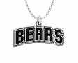 Brown Bears Word Mark Charm