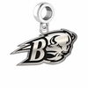 Bucknell Bison Logo Cut Out Dangle