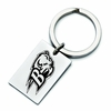 Bucknell Bison Stainless Steel Key Ring