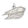 Bucknell Bison Natural Finish Charm