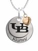 Buffalo Bulls Alumni Necklace with Heart Accent