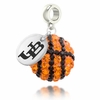 Buffalo Bulls Crystal Drop Charm