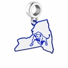 Buffalo Bulls Logo Dangle Charm