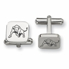 Buffalo Bulls Stainless Steel Cufflinks