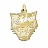Buffalo State Bengals 14K Yellow Gold Natural Finish Cut Out Logo Charm