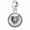 Buffalo State Bengals Border Round Dangle Charm