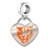 Buffalo State Bengals Color Heart Dangle