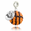 Buffalo State Crystal Drop Charm