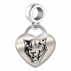 Buffalo State Bengals Heart Dangle Charm