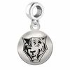 Buffalo State Round Dangle Charm