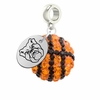 Butler Bulldogs Crystal Drop Charm
