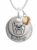 Butler Bulldogs with Heart Accent