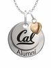 California Berkeley Golden Bears Alumni Necklace with Heart Accent