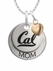 California Berkeley Golden Bears MOM Necklace with Heart Charm