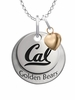 California Berkeley Golden Bears with Heart Accent