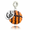 California Crystal Drop Charm