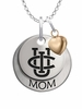 California Irvine Anteaters MOM Necklace with Heart Charm